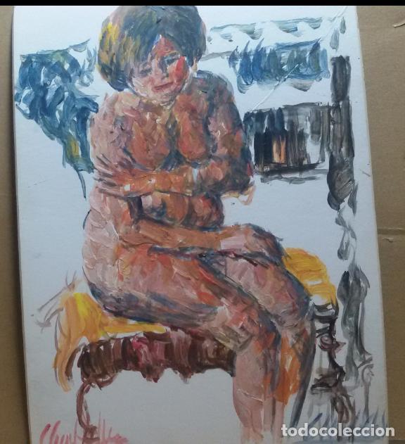 Arte: Desnudo original - Foto 2 - 159593254