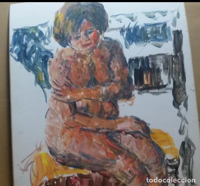Arte: Desnudo original - Foto 4 - 159593254