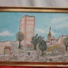 Arte: PAISAJE POPULAR FIRMADO. Lote 159636074