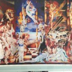 Arte: ARTE, 69X85, XAIME QUESADA, LA PIEL DE LA MUSICA, COPIA CERTIFICADA.. Lote 159745906