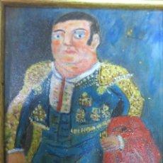 Arte: FERNANDO BOTERO. MATADOR EN AZUL (1991). ÓLEO SOBRE TABLA.. Lote 96152931