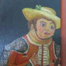 Arte: FERNANDO BOTERO. MATADOR (1991). ÓLEO SOBRE TABLA.. Lote 96153007