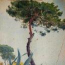 Arte: PAISAJE DE LA COSTA MEDITARRÁNEA. ÓLEO. ATRIB. JULIÁN DEL POZO Y LA TORRE. ESPAÑA. XIX-XX. Lote 159965394