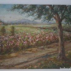 Arte: ÓLEO SOBRE TABLEX ( FIRMADA ) REUS. Lote 159982106