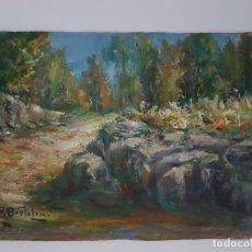 Arte: ÓLEO SOBRE CARTULINA ( FIRMADO ). Lote 159982294