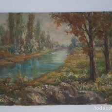 Arte: ÓLEO SOBRE TABLEX ( FIRMADO ). Lote 159982782