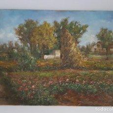 Arte: ÓLEO SOBRE TABLEX ( FIRMADO ). Lote 159982934