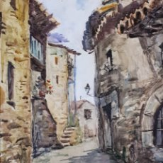 Arte: OLEO SOBRE TABLA FIRMADO. Lote 159985121