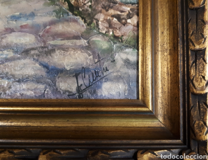 Arte: Oleo sobre tabla firmado - Foto 3 - 159985121