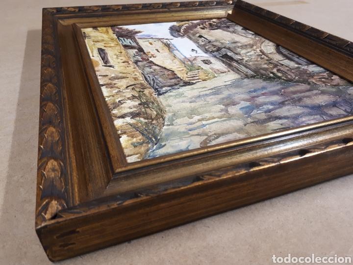 Arte: Oleo sobre tabla firmado - Foto 4 - 159985121