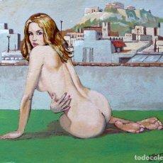 Art: DESNUDO GRIEGO. Lote 160197342