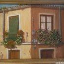 Arte: ÓLEO SOBRE TABLA FIRMADO Y FECHADO. Lote 160256313