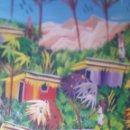 Arte: PINTURA ÉTNICA AL ÓLEO SOBRE MADERA. Lote 160325142