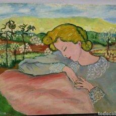 Arte: PINTURA AL OLEO. MUY BONITA. ENVIO CERTIFICADO INCLUIDO.. Lote 160328174