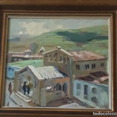 Arte: MARTÍNEZ LOZANO, JOSEP, ( 1923 - 2006 ) PINTOR ( TERRASSA ) UN OLEO SOBRE TABLA. Lote 160346622