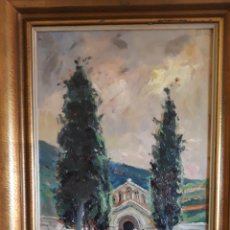 Arte: MARTÍNEZ LOZANO, JOSEP, ( 1923 - 2006 ) PINTOR ( TERRASSA ) UN OLEO SOBRE TABLA. Lote 160346874