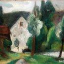 Arte: MANUEL ORTIZ DE ZARATE (COMO, ITALIA, 1887 - LOS ÁNGELES, 1946) OLEO LIENZO. PAISAJE.. Lote 160358370