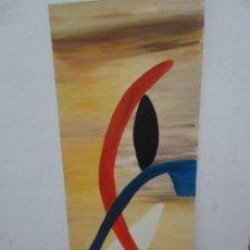 Arte - PINTURA 80 X 30 CM. FIRMA ILEGIBLE - 160461162