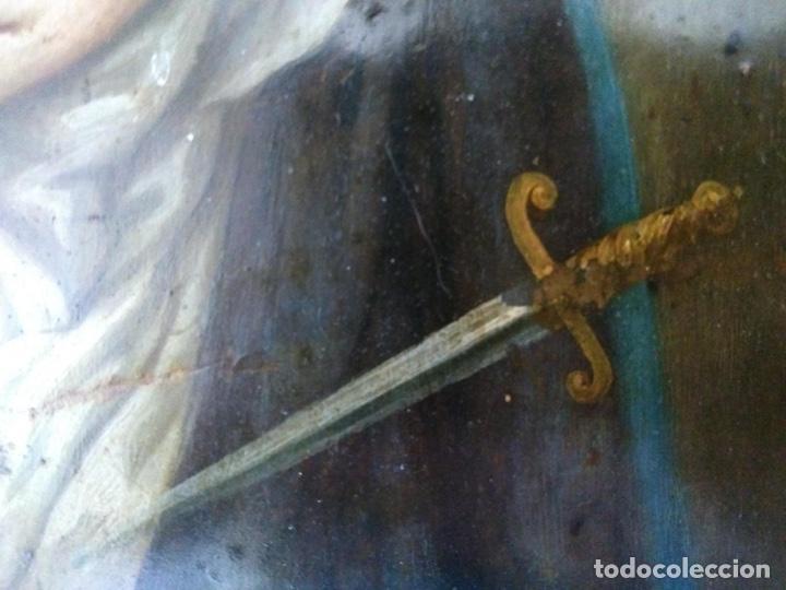 Arte: Virgen Dolorosa, Óleo sobre cobre S. XVIII - Foto 14 - 160485586