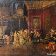 Arte: ESCUELA DE MARIANO FORTUNY (LA VICARÍA).. Lote 160497972