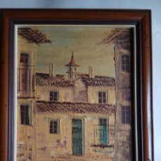 Arte: PINTURA AL OLEO S. ALCARAZ 28 X 36 CM.. Lote 160520086