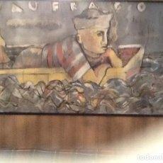 Arte: CUADRO DE GRAN FORMATO DE QUIQUE BORDEL. Lote 160538298