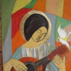 Arte: PINTURA PAN DE ORO. Lote 160688826