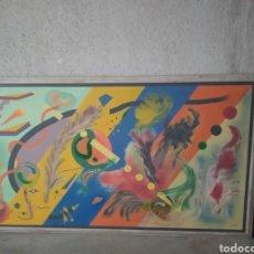 Arte: CUADRO XXL J.PEMAR 2,30 X 1,33. Lote 160694982