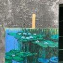 Arte: NENUFARES, ESTILO MONET, GRAN FORMATO. Lote 160742082