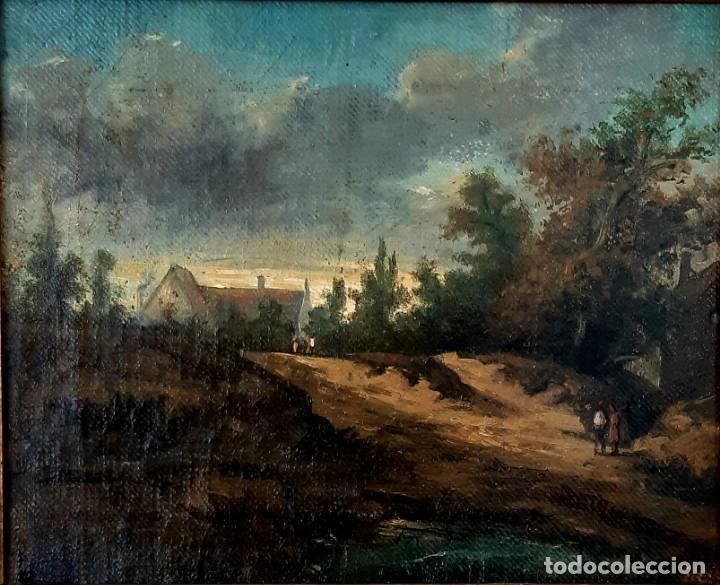 Arte: Paisaje al óleo del siglo XIX - Foto 3 - 160839762