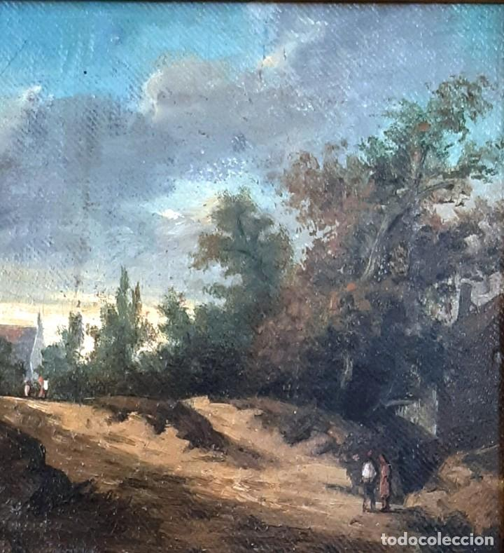 Arte: Paisaje al óleo del siglo XIX - Foto 4 - 160839762