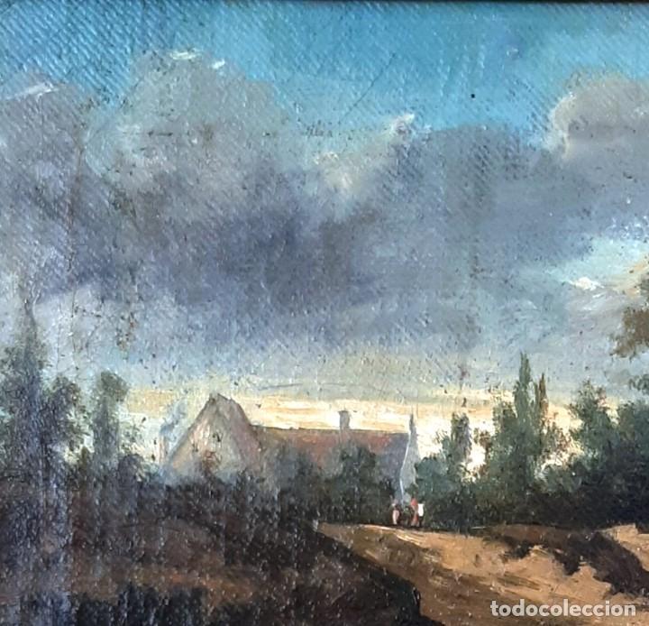 Arte: Paisaje al óleo del siglo XIX - Foto 5 - 160839762