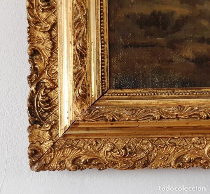 Arte: Paisaje al óleo del siglo XIX - Foto 6 - 160839762