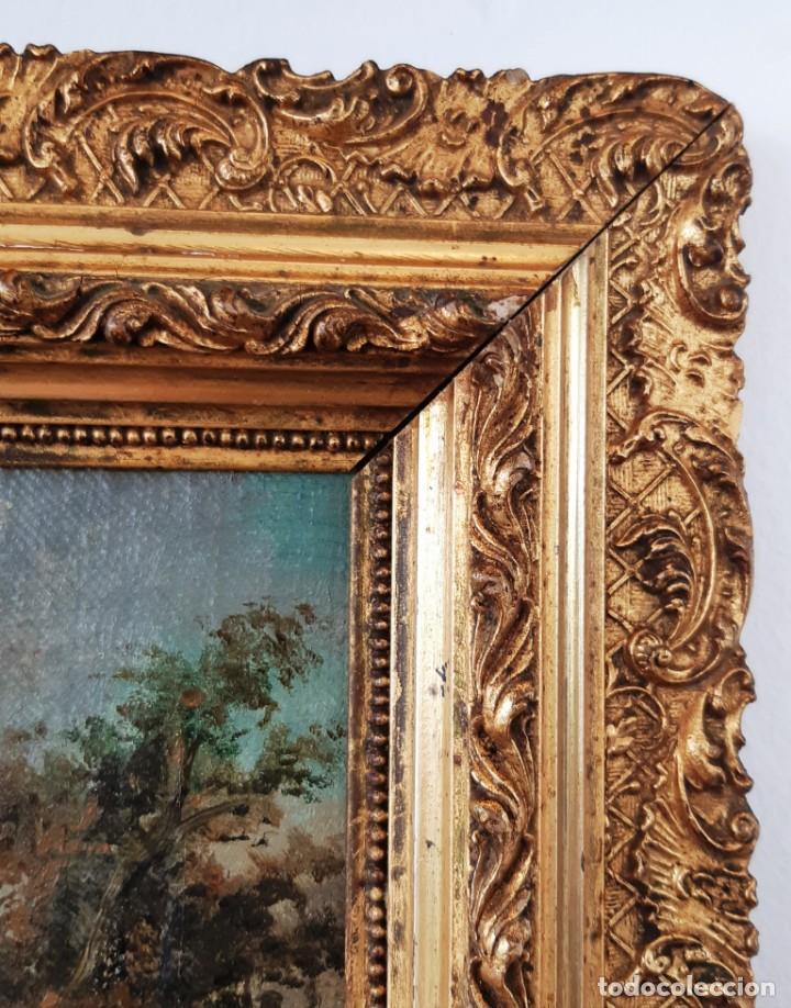 Arte: Paisaje al óleo del siglo XIX - Foto 7 - 160839762