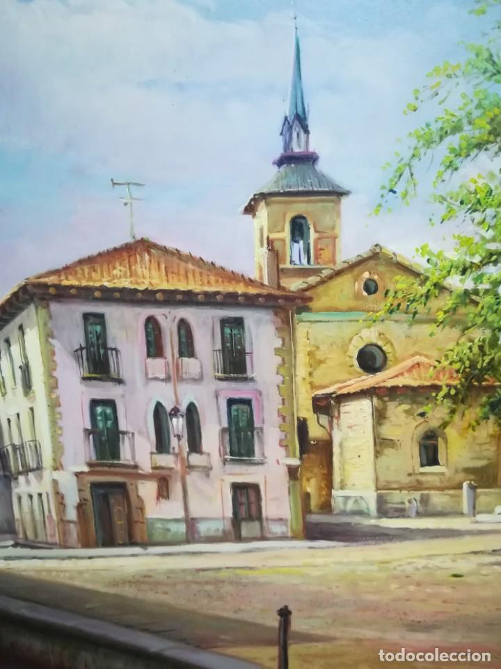 Arte: PLAZA DE LEON POR EL ARTISTA F.SANCHIS - Foto 2 - 160848782