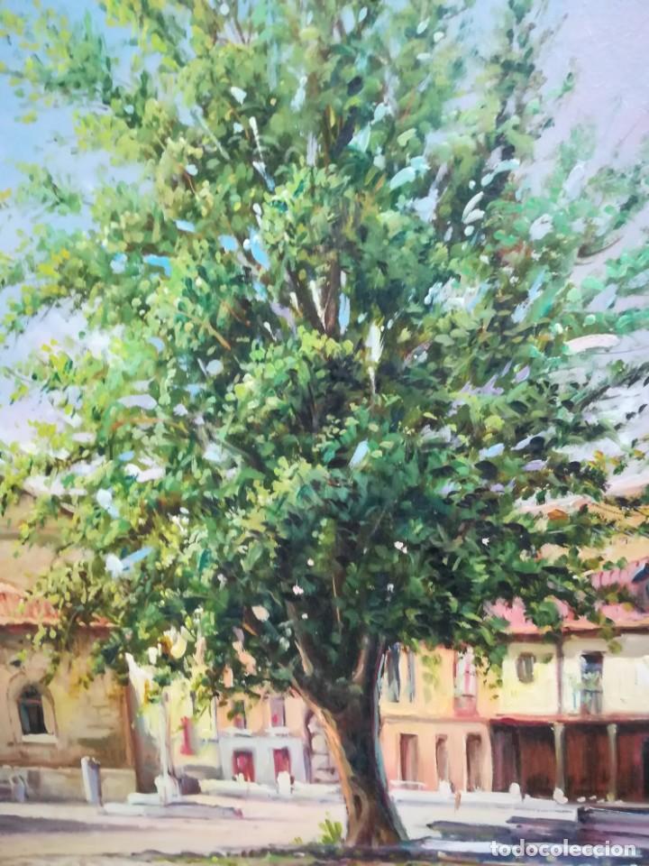 Arte: PLAZA DE LEON POR EL ARTISTA F.SANCHIS - Foto 3 - 160848782