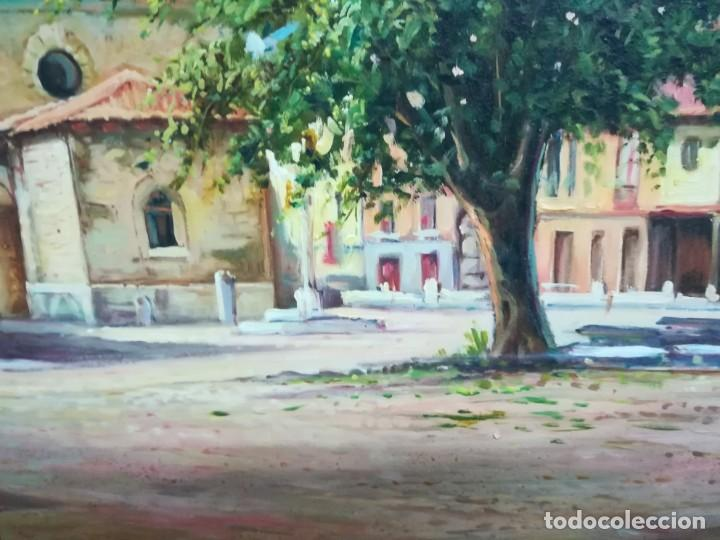 Arte: PLAZA DE LEON POR EL ARTISTA F.SANCHIS - Foto 5 - 160848782