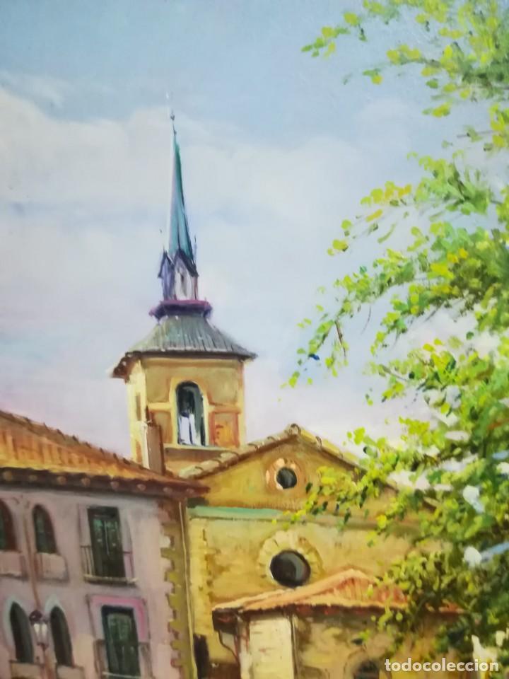 Arte: PLAZA DE LEON POR EL ARTISTA F.SANCHIS - Foto 6 - 160848782