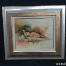 Arte: DESNUDO POR EL ARTISTA MERCHAN. Lote 160857650