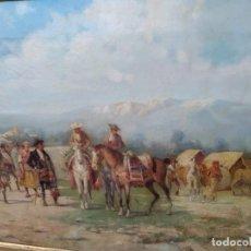 Arte: ROMERIA. ATRIBUIDO A BALDOMERO GALOFRE- ESCUELA CATALANA SIGLO XIX. Lote 160896862