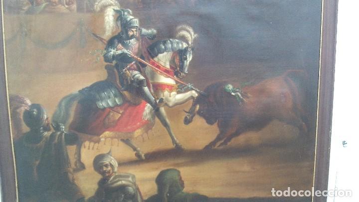 Arte: pintura al oleo del famoso pintor jose nmaria brel y giral 1841-1894,buen tamaño 110cm por 85cm - Foto 3 - 160970346
