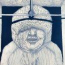 Arte: JOAN PIJOAN - TINTA SOBRE PAPEL - EXTRAÑA REPRESENTACIÓN DE LA JUSTICIA - OBRA INTIMISTA - AÑO 77. Lote 160972298