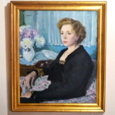 Arte: FRANCESC SERRA CASTELLET (1912-1976) DAMA. Lote 157124014