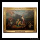 Arte: SIMON DE VOS. OLEO SOBRE PLANCHA DE COBRE. PINTURA FLAMENCA. FLANDES. CIRCA 1637. FIRMADO Y FECHADO.. Lote 160984646