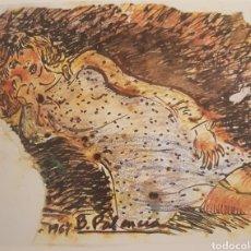Kunst - Benjamin Palencia Niña recostada - 160986545