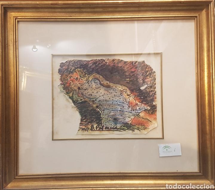 Arte: Benjamin Palencia Niña recostada - Foto 2 - 160986545