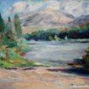 Arte: LLUIS CANALS XERCAVINS (BARCELONA, 1914-1980) OLEO SOBRE TELA. PAISAJE. Lote 161021514