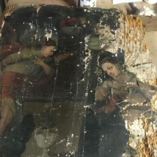 Arte: IMPRESIONANTE TABLA ORIGINAL S. XVI , ANUNCIACION ESCUELA CASTELLANA. Lote 161131138