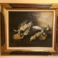 Arte: JOSEP SERRASANTA (1916-1998) NATURALEZA MUERTA. Lote 161163622