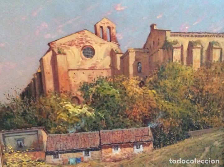 EGUILUZ (VISTA DE ESTELLA) (Arte - Pintura - Pintura al Óleo Contemporánea )